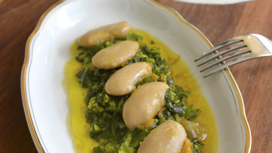 "Lima Beans ""Kou viartz"" Authentic, from Laista village recipe"